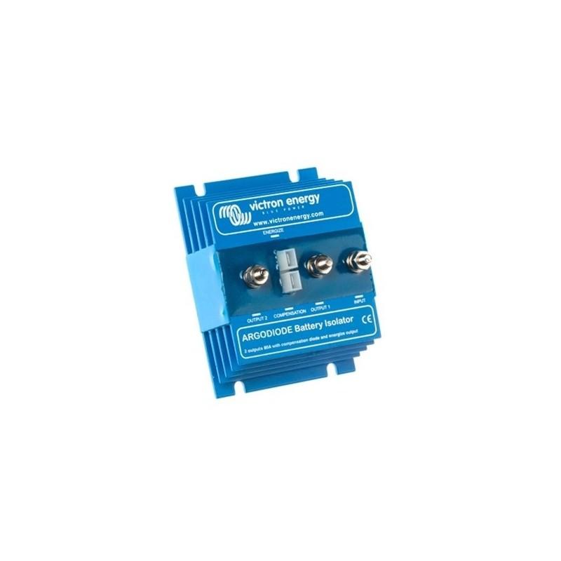 Victron Energy Argo diode 802AC 2 accu's 80A