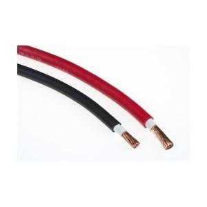 Accukabel rood - zwart 25mm² per meter